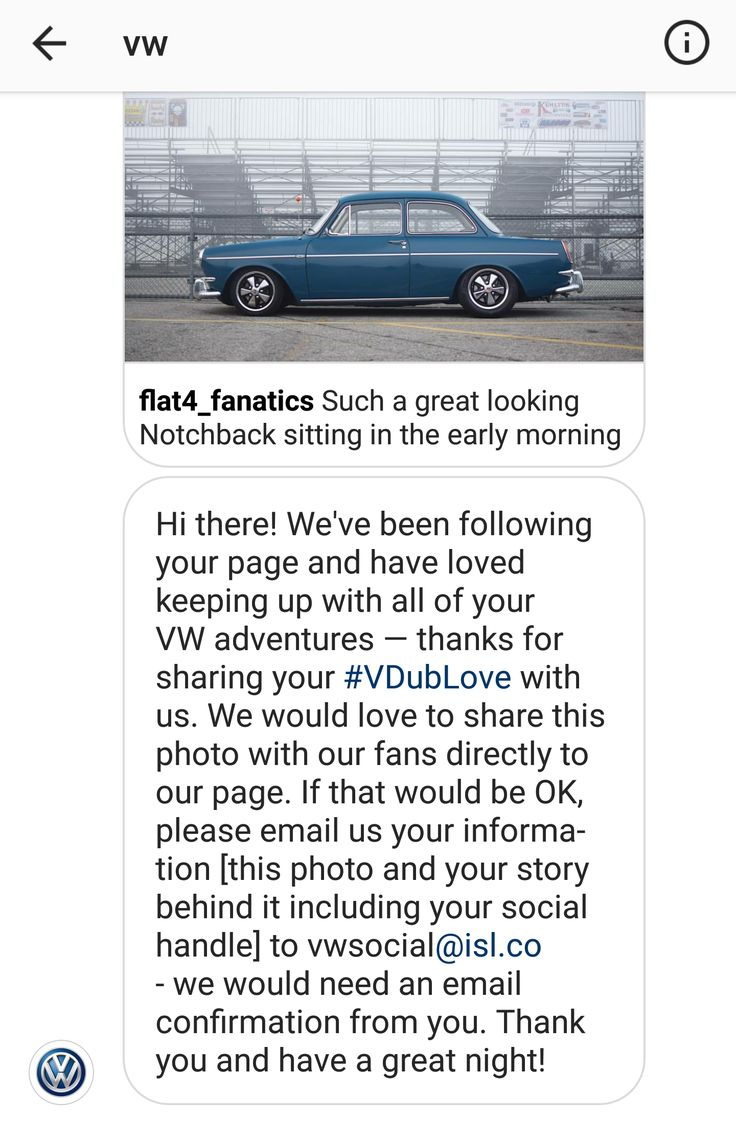 Got a message from VW USA's Instagram page today wanting to feature my photo! #Volkswagen #VW #golf #cartweet #PKW #cars #Passat #beetle #polo #car