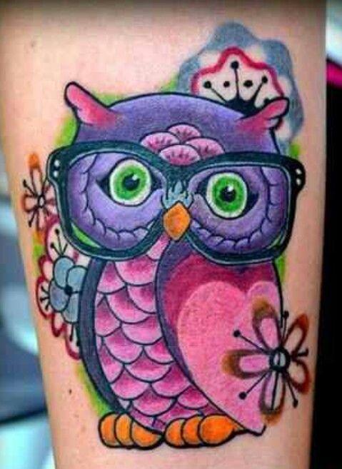 http://tattoo-ideas.us #Owl Tattoo
