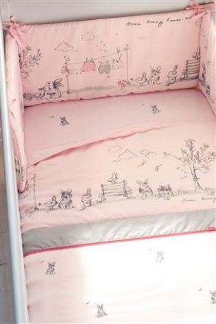 Bunny Pencil Pleat Curtains From The Next Uk Online White Cotnursery Room