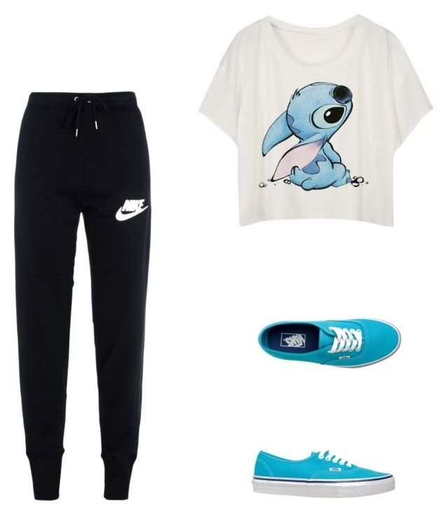 Untitled #3 by branda-eggert on Polyvore featuring polyvore, fashion, style, NIKE, Vans, women's clothing, women's fashion, women, female, woman, misses and juniors
