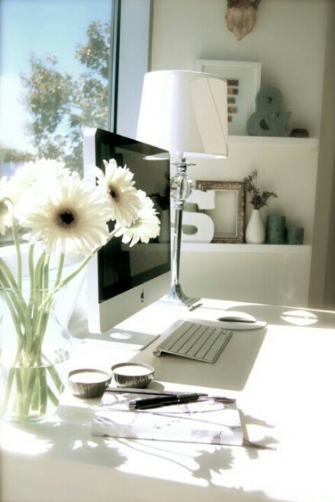 White fresh office space