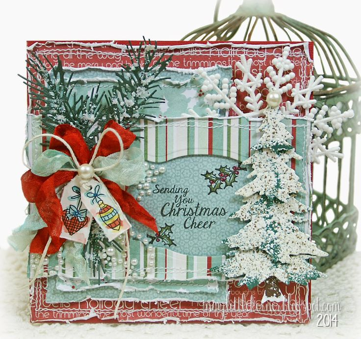 282 Best Cards Lotv Christmas Or Winter Images On Pinterest