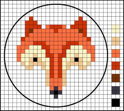 Foxy fox... вышивка,схемы,выкройки,декор,картинки