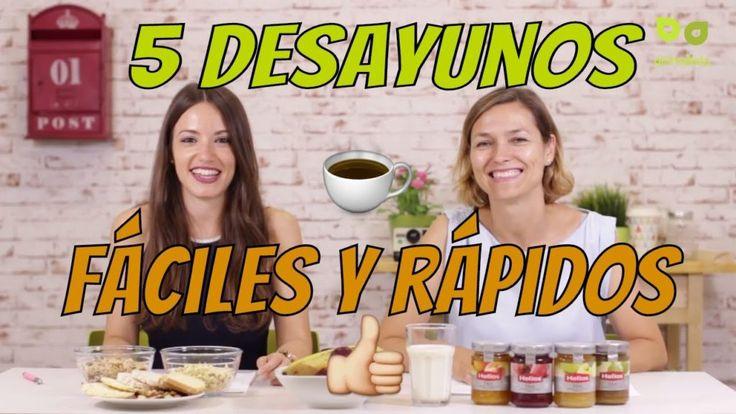 5 desayunos saludables completos y equilibrados