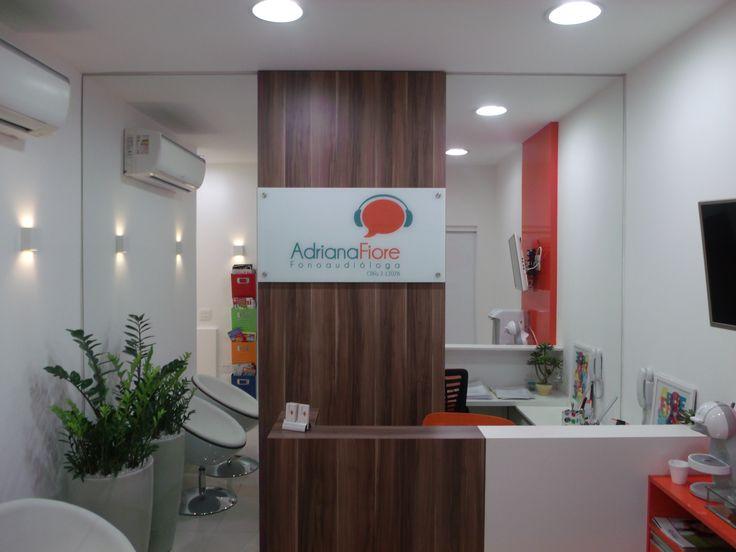 escritório, consultório, inspiração, decor, decoração de escritório. Projeto de Arquiteta Cristiane Vassoler