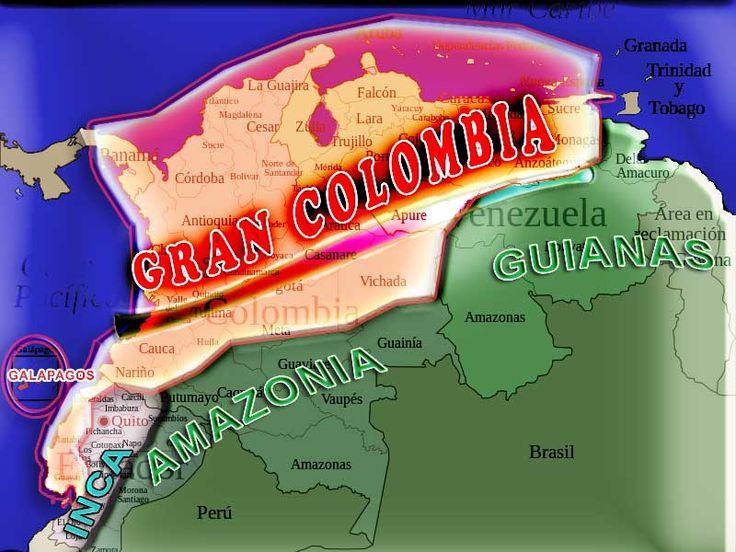 Area Gran Colombia
