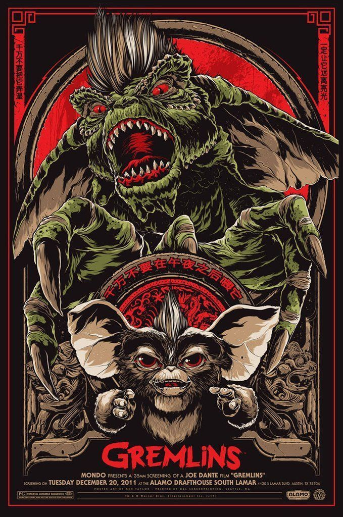 CLASSIC MOVIE POSTER 24x36 GREMLINS