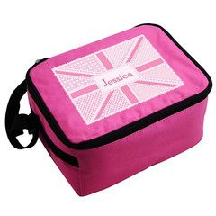 Pink Animal Union Jack Bag | Personalise | Back to School | Absolutely Adorable