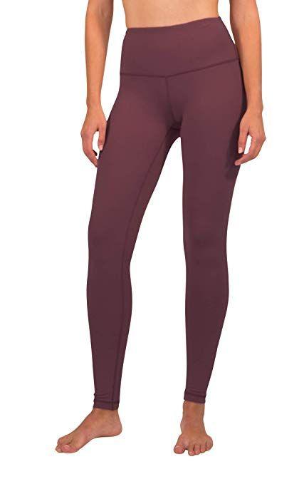 f26ab3b25e1f67 90 Degree By Reflex High Waist Squat Proof Interlink Leggings for Women at Amazon  Women's Clothing