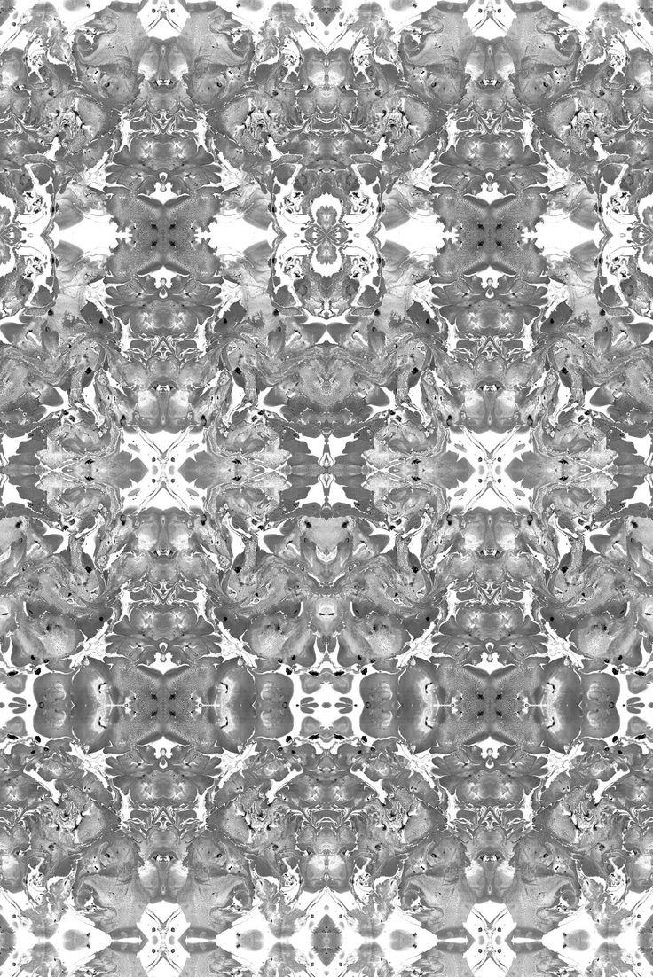 Timorous Beasties - Cerebral Marble wallpaper