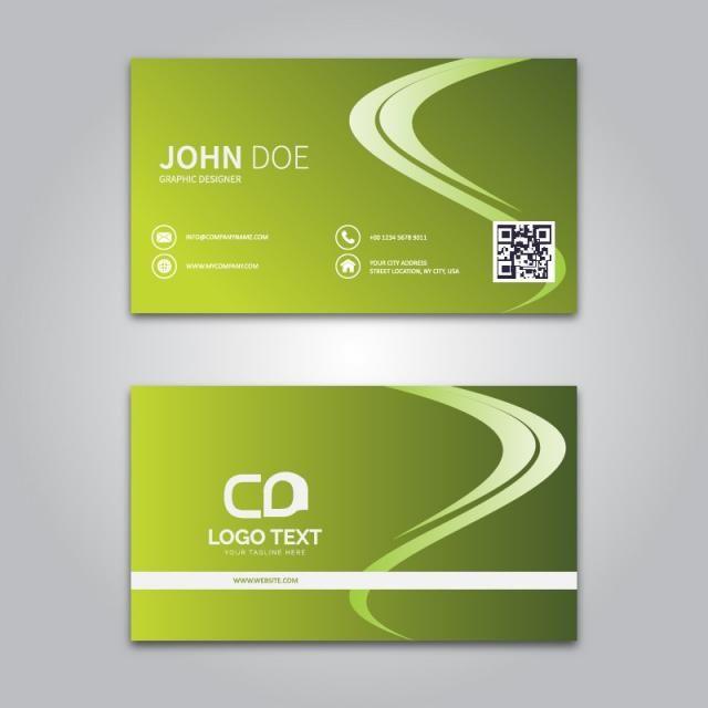 الانحدار ناقلات بطاقة الأعمال Vector Business Card Graphic Design Design