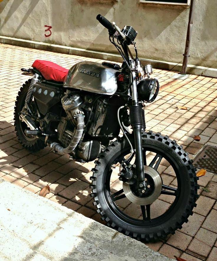 12 HONDA CX 500 LARROGANTE by Espreso scrambler brat style cafe racer bike motorcycle custom Motorcycles 7 Friday Inspiration 174