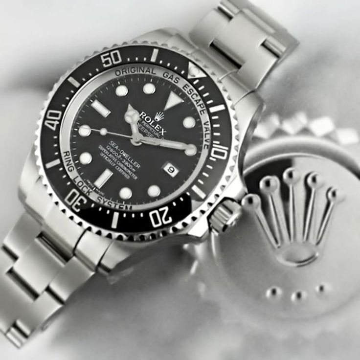 Dwell Into the Deep with this gorgeous #rolex #deepsea #seadweller now available at watchcentre.com