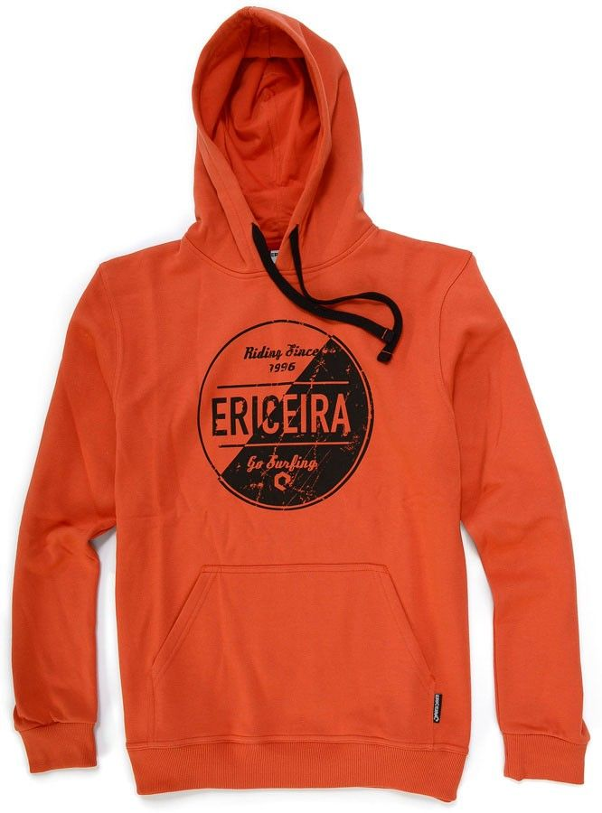 Sweat Capuz Ericeira Surf & Skate SCRATCH Red