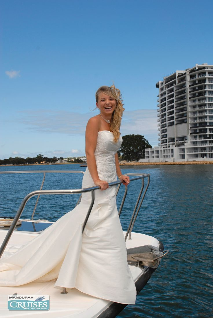Imagine a day as unique as you are... our floating weddings are special. #wedding #reception #venue