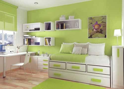 17 mejores ideas sobre habitaciones verdes azules en - Colores azules para habitaciones ...