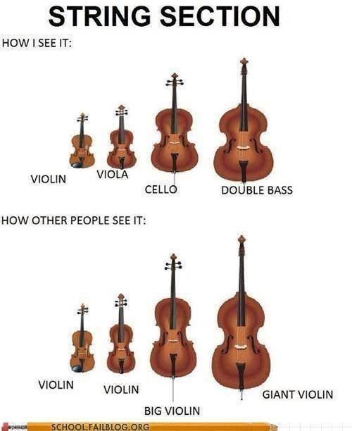 """Bass problem: Having to contain my laughter when people say, """"OMG, YOU PLAY THE GIANT VIOLIN? WHUT??"""""""