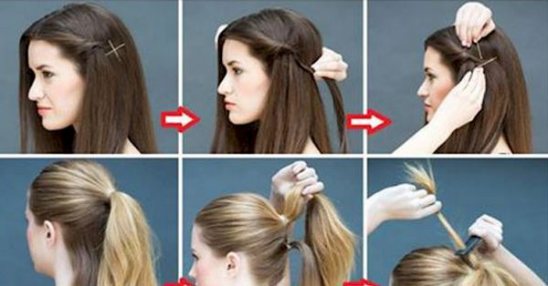 20 Super Simple Hairstyles For The Lazy Girl In All Of Us which can be done in minutes for Busy Mornings