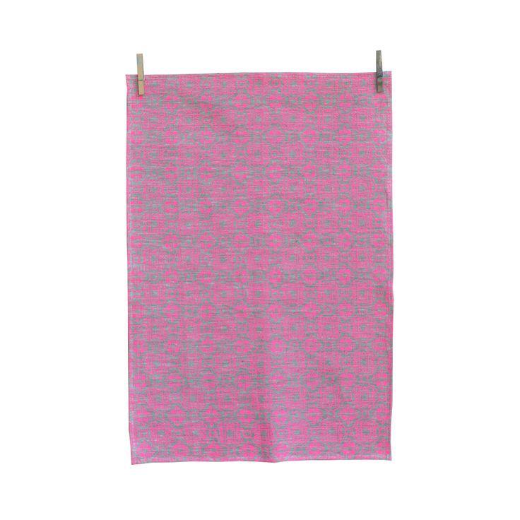 Morocco Tea Towel Strawberry