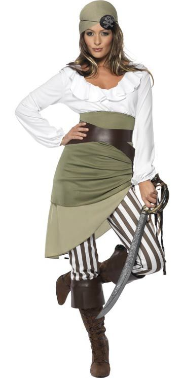 Shipmate Sweetie - Ladys Pirate Costume | Karnival Costumes [BQ033353] - $50.30 : Karnival Costumes