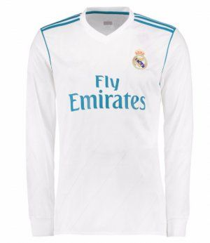 camiseta real madrid 2018 manga longa