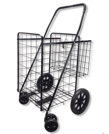 Grocery Basket On Wheels