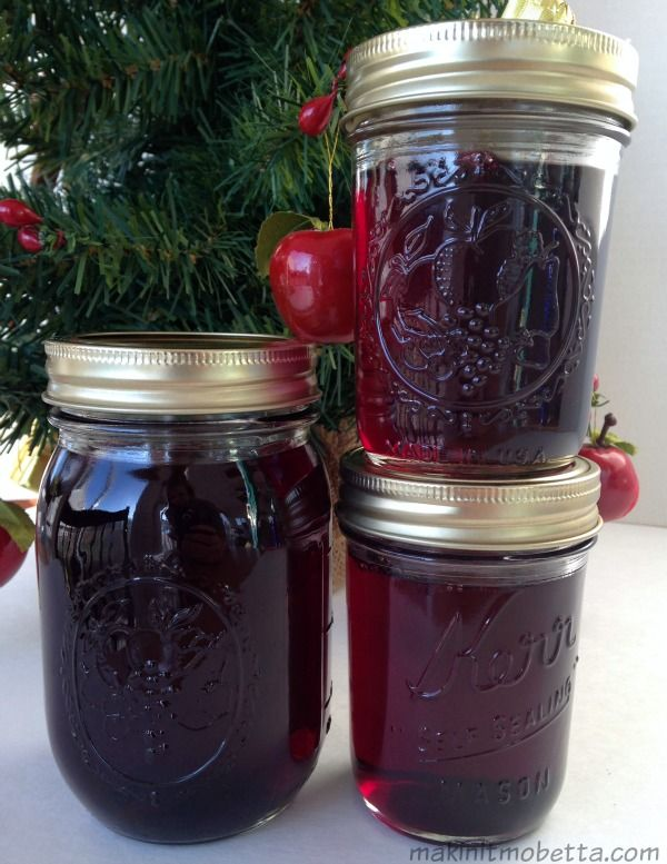 Wine Jelly is great for brunch or over cream cheese for an appetizer. It also makes a great gift for the holidays!