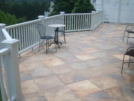 Terrace Tile Ideas