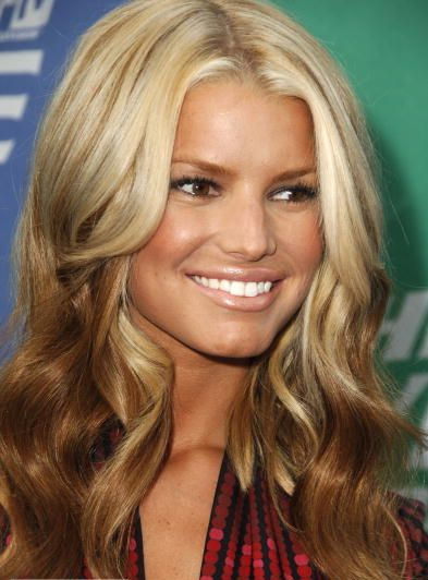 Blonde Ombre...I wanna do this to someone!: Hairstyles, Jessica Simpson, Hair Styles, Haircolor, Ombre Hair, Blonde Ombre, Reverse Ombre, Hair Color