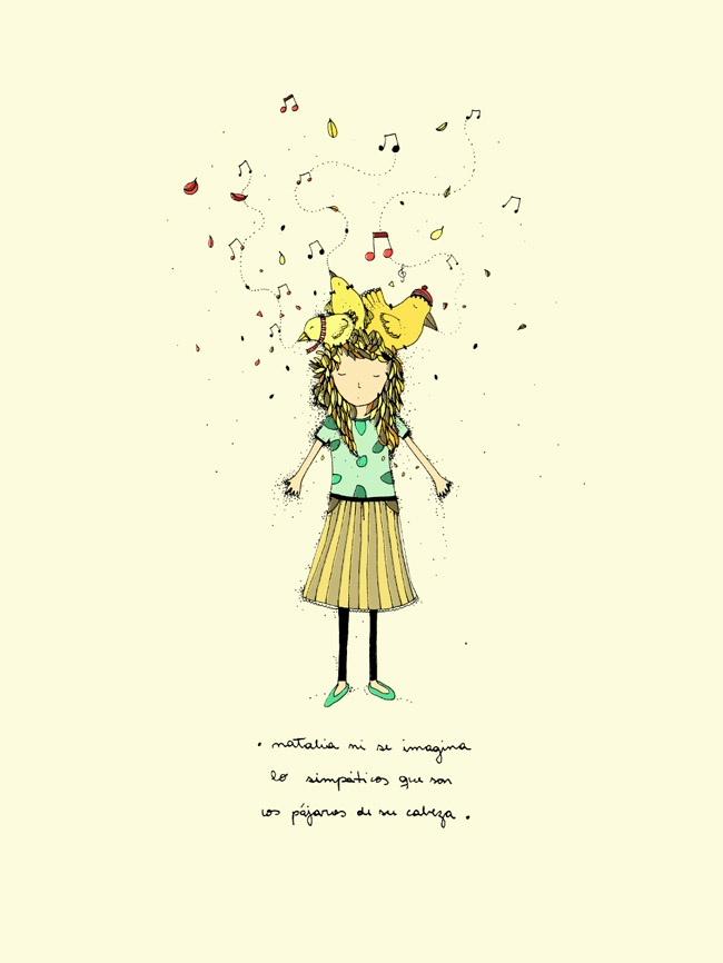 Verdes Vueltitas - por Vero Gatti: Natalia ni se imagina