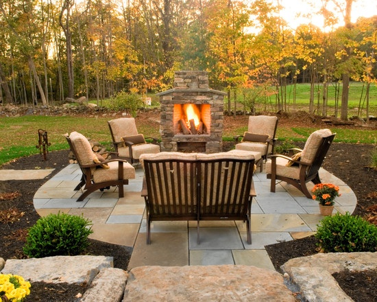 21 best outdoor fireplace images on pinterest | backyard ideas ... - Patio Ideas With Fireplace
