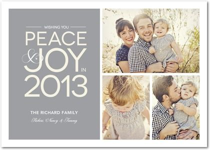We are adoring this lovely New Year's card