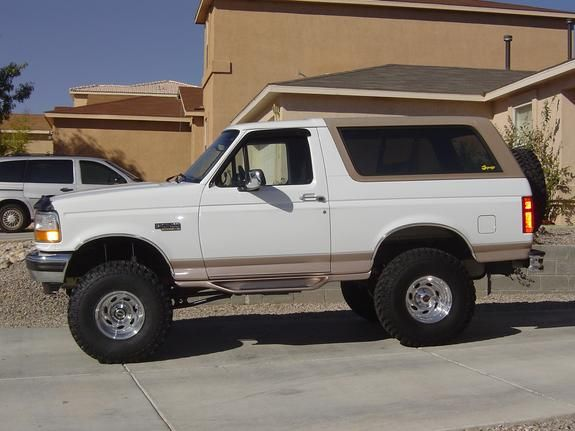 Lifted 1996 Bronco Eddie Bauer   1996 ford bronco lifted Car Tuning