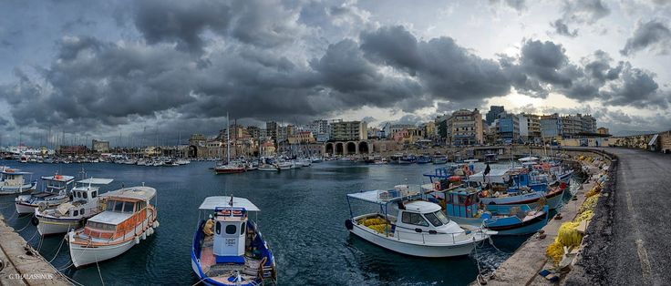 Venetian harbour by George Thalassinos on 500px