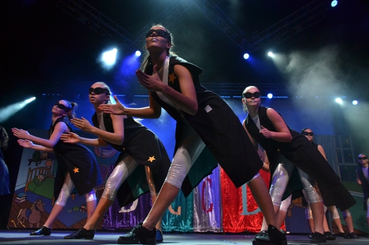 dancers on show in Bye Bye Birdie