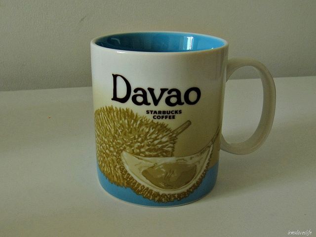 Davao Starbucks city mugs, Starbucks mugs, Mugs