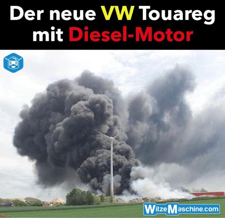 Der Neue VW Touareg Mit Dieselmotor   Lokomotive   Dieselgate