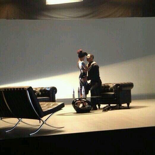 Agnez Mo and Brian White in a scene of Coke Bottle MV. #agnezmo #agnesmonica @AGNEZ MO