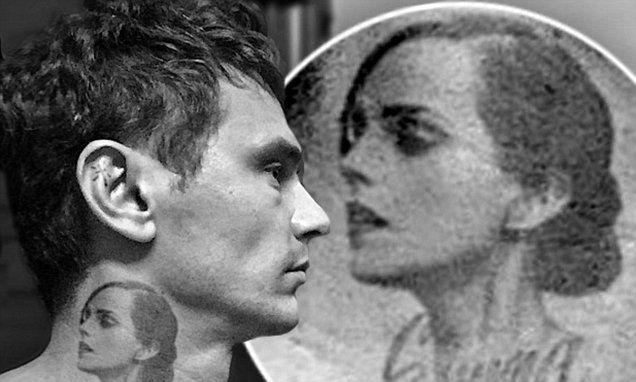 James Franco shows off fake Emma Watson tattoo