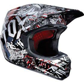 $300 Fox Racing V3 Type O Helmet