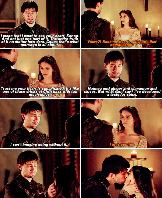 Bash and Kenna from Reign. I ship them so hard! They are beautiful! Writers.....get your act back together!