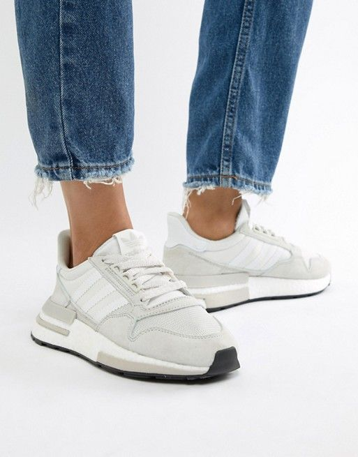 75bece07a adidas Originals Zx 500 Rm Sneakers In White in 2019 | Sneakers ...