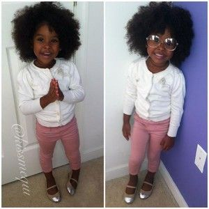 Image result for cute black baby girl with swag