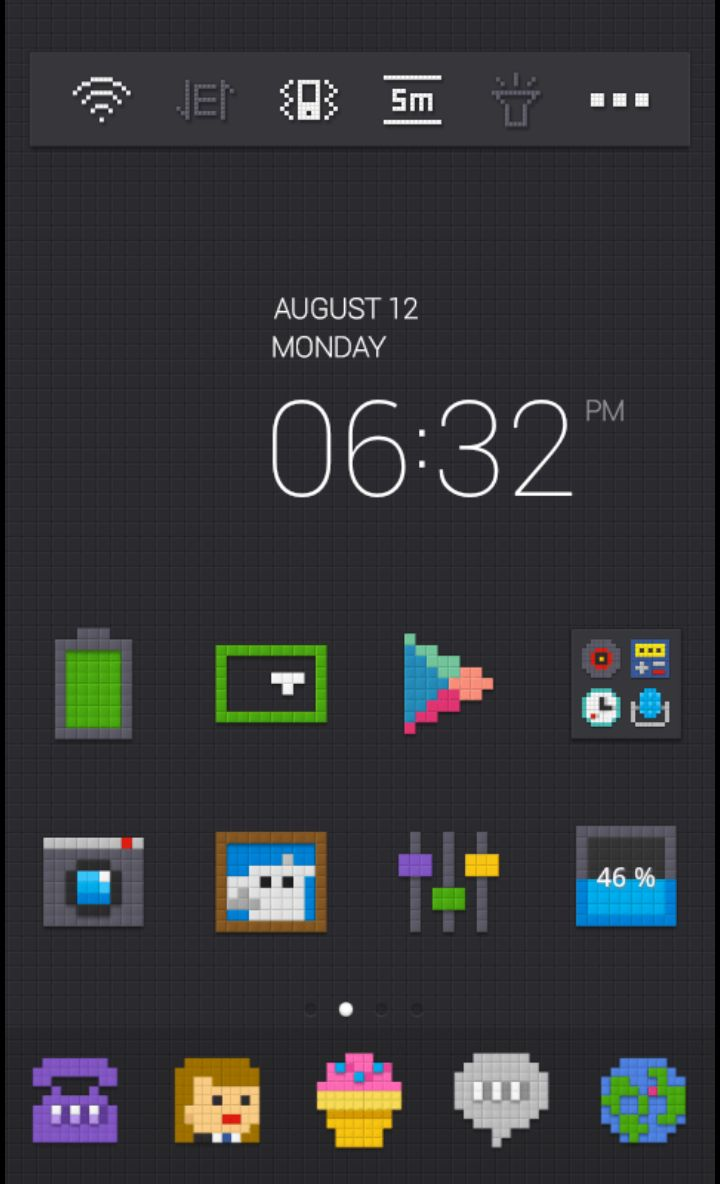 Lego Block theme by #dodol launcher