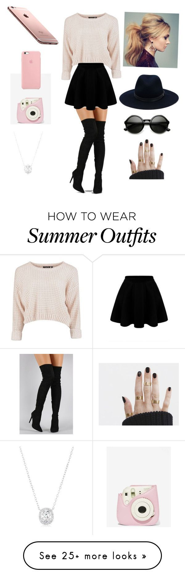 """""""cute out to go outfit """" by cos-stacy on Polyvore featuring Liliana and rag & bone"""