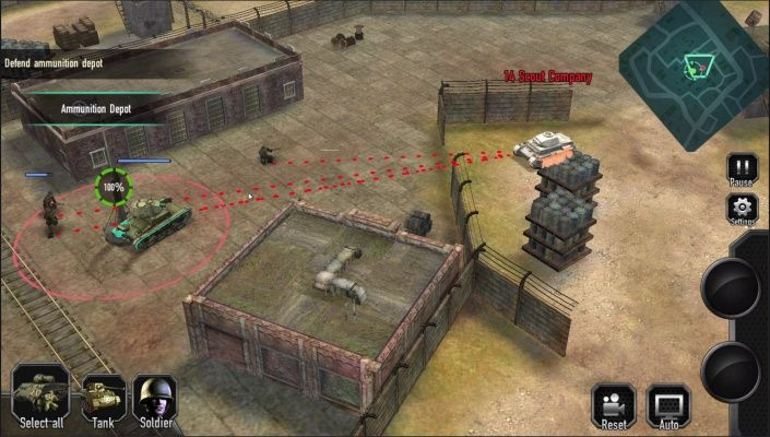 Duty of Heroes WW2 is a Android Free-to-play Strategy RPG
