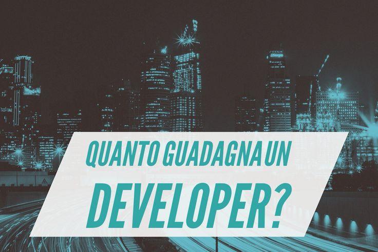Come trovare #lavoro domani mattina come #developer? E quanto guadagna? poche semplici regole da seguire ( guarda il video ) https://youtu.be/7Cg2N4_NFjU