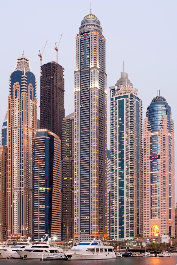 "Princess Tower, Dubai. Wabnili Sarhan la3ali Atali3ou ila illah moosa"""