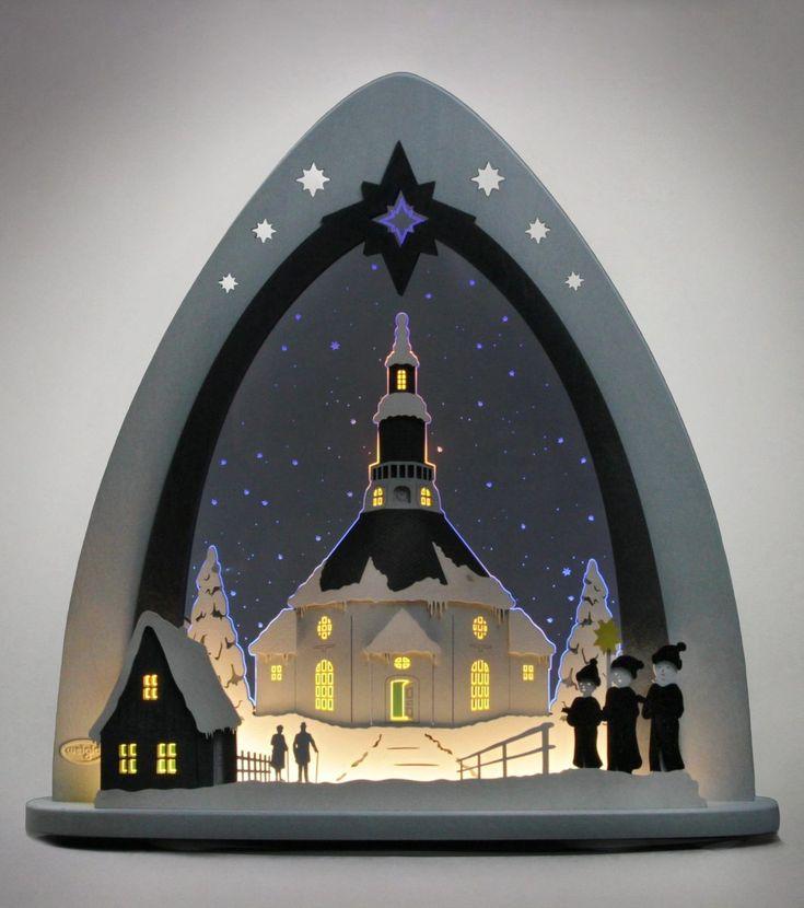 Lichterspitze transparent, »Seiffener Kirche«, FSC®-zertifiziert, WEIGLA® Jetzt bestellen unter: https://moebel.ladendirekt.de/weihnachten/weihnachtsdeko/?uid=fef1519a-a8ca-50bb-ae07-060f8bd78586&utm_source=pinterest&utm_medium=pin&utm_campaign=boards #lichterspitze #weihnachten #weihnachtsdeko