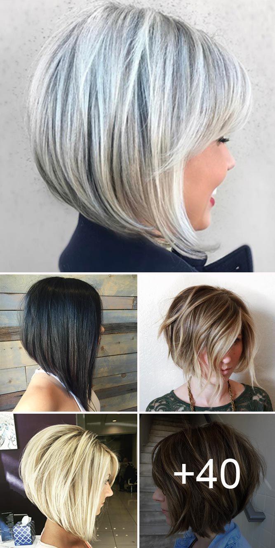 195 Fantastic Bob Haircut Ideas Lovehairstyles Com Stacked Bob Haircut Bobs For Thin Hair Long Bob Hairstyles
